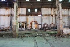 Gammalt industriellt bryta område Arkivbilder