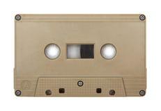 Gammalt isolerat kassettband Arkivfoton
