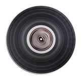 Gammalt isolerat vinylrekord Arkivfoto