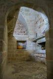 Gammalt italienskt stenrum Arkivbilder
