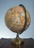 Gammalt jordklot Arkivfoto
