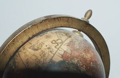 gammalt jordklot Arkivbild
