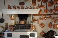 gammalt kök arkivfoton