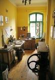 Gammalt kök i den antika byggnaden Arkivfoto