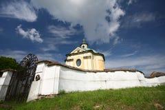 gammalt kapell royaltyfri bild