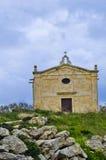 Gammalt kapell, Buskett Malta Royaltyfri Foto
