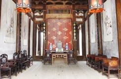 gammalt kinesiskt hus Royaltyfri Foto