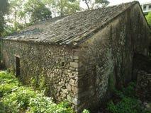 gammalt kinesiskt hus Arkivfoto