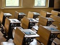 Gammalt skola rum Fotografering för Bildbyråer