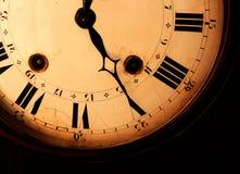 gammalt klockafragment Arkivfoton