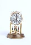 gammalt klockaskrivbord royaltyfria foton