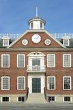 Gammalt kolonihus, Newport, Rhode - ö Fotografering för Bildbyråer