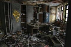 gammalt kontor Fotografering för Bildbyråer