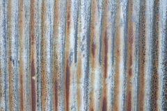 Gammalt korrelerat metallark Royaltyfri Fotografi
