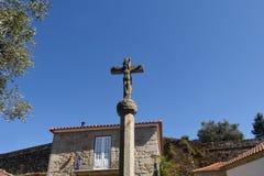 Gammalt kors av Vila Nova de Cerveira Arkivfoto
