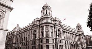 Gammalt krigkontor, departement av försvar, London Royaltyfri Foto