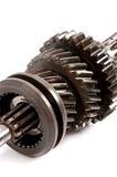 Gammalt kugghjul för metalldelar Royaltyfria Foton