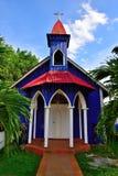 gammalt kyrkligt land Arkivfoto