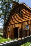 Gammalt lantbrukarhem i South Dakota royaltyfria foton
