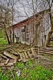 gammalt lantgårdhus royaltyfri fotografi