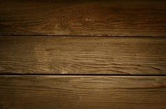 Gammalt lantligt brunt trä royaltyfri bild