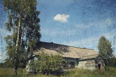 gammalt lantligt för hus Royaltyfri Bild