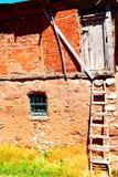 Gammalt lantligt hus Sivas arkivfoto