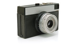 gammalt litet för kamera Arkivfoto