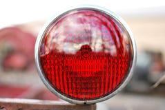 Gammalt ljus för svans för brandlastbil royaltyfria foton