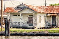 Gammalt Louisiana hus arkivfoton