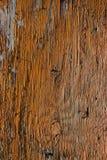 gammalt målat rött trä Royaltyfria Bilder