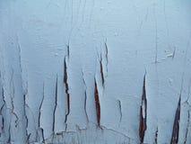 Gammalt målat sprucket Arkivfoton