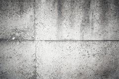 Gammalt mörker - grå betongväggbakgrundstextur fotografering för bildbyråer