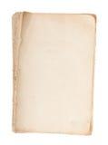 gammalt manuskript Arkivbild