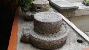Gammalt material för Penggiling beras Royaltyfri Bild