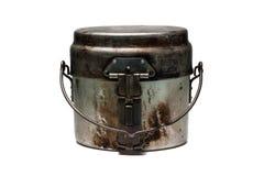 Gammalt metallröra-tenn Arkivfoton