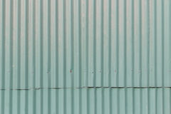 Gammalt metalltak Arkivfoto