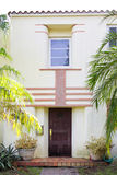 Gammalt Miami Beach hus Royaltyfri Fotografi