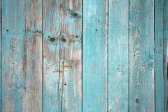 Gammalt målat trä för abstrakt bakgrund Royaltyfri Bild