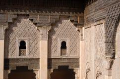 Gammalt moroccan hus Arkivbilder