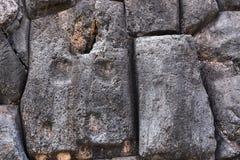 Gammalt murverk av Incas Arkivfoto