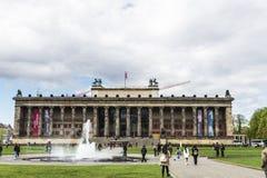 Gammalt museum för Altes museum i museumön i Berlin, Tyskland Fotografering för Bildbyråer