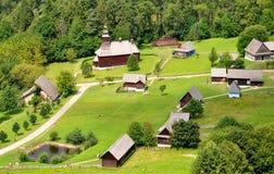 Gammalt museum, Stara Lubovna, Slovakien, Europa Arkivfoto