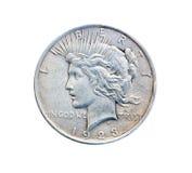 gammalt mynt arkivfoto
