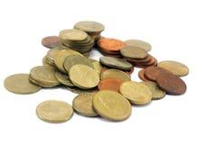 Gammalt mynt Fotografering för Bildbyråer