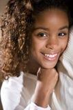 gammalt nätt tio år för flicka Royaltyfria Bilder
