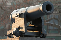 Gammalt nautiskt för kanon Arkivfoto