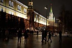 Gammalt nytt år i Moskva royaltyfri fotografi