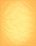 gammalt orange papper Arkivbild