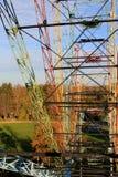Gammalt panoramahjul inom Royaltyfri Fotografi